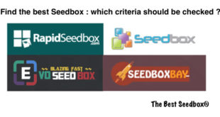Best seedbox criteria