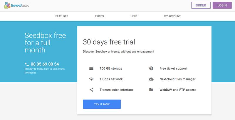 Free Seedbox Seedboxfr