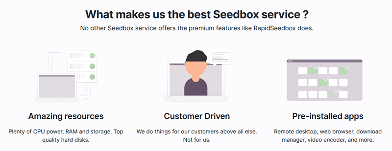 Why RapidSeedbox