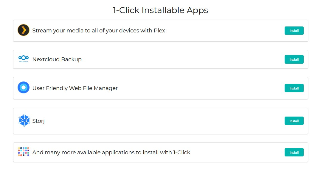 one click apps