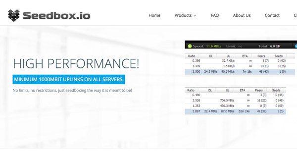 Review Seedbox.io test