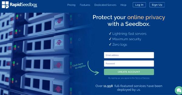 RapidSeedbox best seedbox provider